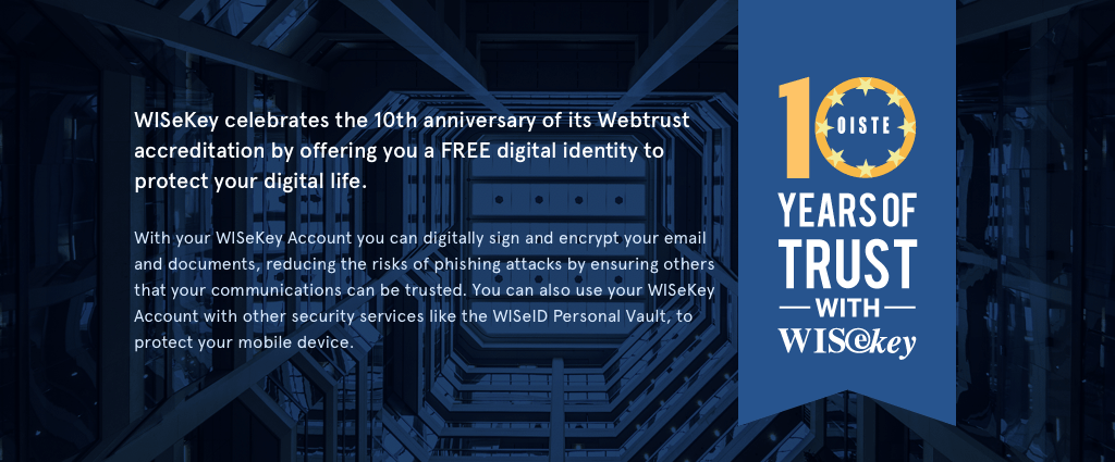 wisekey 10th webtrusted
